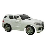 JUNIOR Child Mobil Aki Mercedes Benz ML63 AMG [DMD-168 BR] - White (Merchant) - Ride On and Tricycles