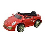 JUNIOR Child Mobil Aki Porsche [TR-1402] - Red (Merchant) - Ride On and Tricycles