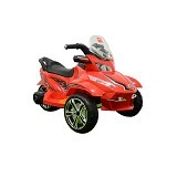 JUNIOR Child Motor Aki FOX [TR-1408] - Red (Merchant) - Ride On and Tricycles