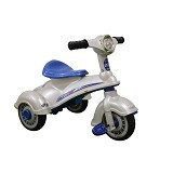 JUNIOR Child Motor Aki Victory [TR-1308] - White (Merchant) - Ride On and Tricycles