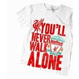 JURAGAN KAOS Quotes Liverpool Size XL - White - Kaos Pria