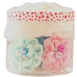 JUST A LITTLE TREAT Pastel Pearl Flower 7pcs - Bros
