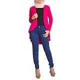 JV HASANAH Diana Cardy - Pink - Cardigan Wanita