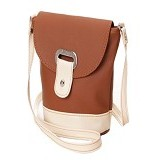 KADOMIKADO Tas Mini Salvia - Brown (Merchant) - Cross-Body Bag Wanita