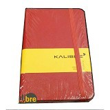 KALIBRE Note A6 - Red (Merchant) - Journal/Planner