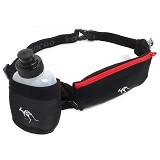 KANGAROO Runing Lycra Pounch [ASS331] - Black - Tas Pinggang / Travel Waist Bag