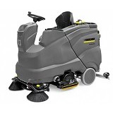 KARCHER Classic Baterry Power Ride On Scrubber Drier Professional [B 150 R] (Merchant) - Vacuum Cleaner