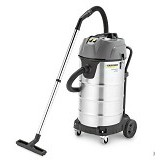 KARCHER Vacuum Cleaner Stainless [NT 90/2 Me Classic] (Merchant) - Vacuum Cleaner