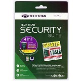 KASPERSKY Tech Titan Security Suit (3 User) 2017 (Merchant) - Client Software Internet Security Fpp