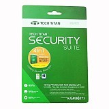 KASPERSKY Tech Titan Security Suite 1 2017 (Merchant) - Client Software Internet Security Fpp
