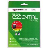 KASPERSKY Tech Titan Essensial Suit (3 User) 2017 (Merchant) - Client Software Antivirus Fpp
