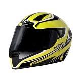 KBC Helm Full Face V Euro Size L - Yellow Black - Helm Motor Full Face
