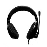 KEENION Headset [KDM 1013] - Black - Headset Pc / Voip / Live Chat