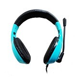 KEENION Headset [KDM 1013] - Blue - Headset Pc / Voip / Live Chat