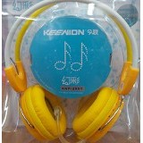 KEENION Headset [KNP 260Y] - Yellow - Headset Pc / Voip / Live Chat