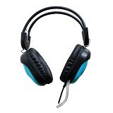 KEENION Headset [KOS 788] - Blue - Headset Pc / Voip / Live Chat