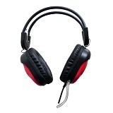 KEENION Headset [KOS 788] - Red - Headset Pc / Voip / Live Chat