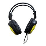 KEENION Headset [KOS 788] - Yellow - Headset Pc / Voip / Live Chat