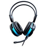 KEENION Headset [KOS 888] - Blue - Headset Pc / Voip / Live Chat