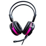 KEENION Headset [KOS 888] - Pink - Headset Pc / Voip / Live Chat