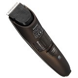 KEMEI Rechargeable Beard and Moustache Hair Clipper Trimmer For Men [KM-2013] - Brown (Merchant) - Alat Cukur Elektrik Pria
