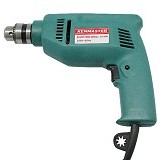 KENMASTER Electric Drill 10 mm -  Green (Merchant) - Bor Mesin