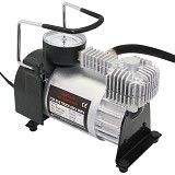 KENMASTER Mini Air Compressor 002 Piston - Black (Merchant) - Kompresor Angin