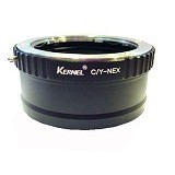 KERNEL Adapter Contax / Yashika to 4/3 Body - Camera Lens Adapter and Bracket