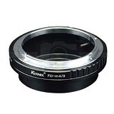KERNEL Adapter Lensa Canon FD ke M 4/3 - Camera Lens Adapter and Bracket