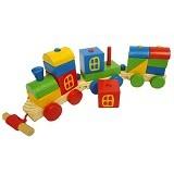 KIDZNTOYS Kereta Kayu Pelangi - Wooden Toy