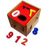 KIDZNTOYS Kotak Angka 1-9 - Wooden Toy