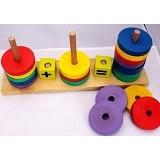 KIDZNTOYS Lingkaran Hitung - Wooden Toy