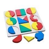 KIDZNTOYS Puzzle SMGB Timbul - Wooden Toy