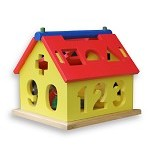 KIDZNTOYS Rumah Angka Besar - Wooden Toy