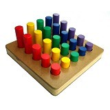 KIDZNTOYS Silinder Bertingkat - Wooden Toy