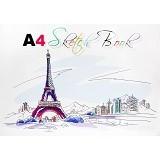 KIKY Sketch Book A4 [50LB] - Buku Seni Gambar