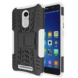 KIN Case Rugged Armor With KickStand For Xiaomi Redmi Note 3 - White - Casing Handphone / Case