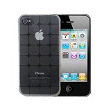 KIN Cube Ultra Thin Soft Case For Apple iPhone 4 4S - Clear - Casing Handphone / Case