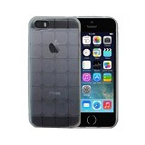 KIN Cube Ultra Thin Soft Case For Apple iPhone 5 5S - Clear - Casing Handphone / Case