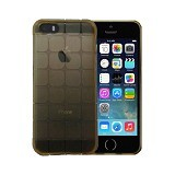 KIN Cube Ultra Thin Soft Case For Apple iPhone 5 5S - Gold - Casing Handphone / Case