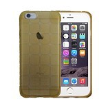 "KIN Cube Ultra Thin Soft Case For Apple iPhone 6 6S 4.7"" - Gold - Casing Handphone / Case"