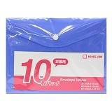 KING JIM Envelope Holder [E 734Ga-E A5/10] - Blue - Business File