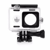 KINGMA Waterproof Case For Xiaomi Yi - Black (Merchant) - Camcorder Lens Cap and Housing Protection