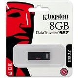 KINGSTON DataTraveler 8GB [DTSE7] - USB Flash Disk Basic 2.0