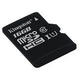 KINGSTON MicroSDHC 16GB [SDC10G2/16GBSP] (Merchant) - Micro Secure Digital / Micro Sd Card