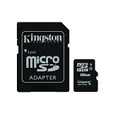 KINGSTON MicroSDHC 16GB [SDC4/16GB] (Merchant) - Secure Digital / Sd Card
