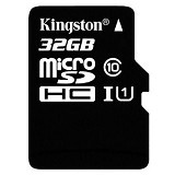 KINGSTON MicroSDHC 32GB Class 10 [SDC10G2/32GBSPFR] - Micro Secure Digital / Micro Sd Card