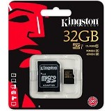 KINGSTON MicroSDHC 32GB Class 10 [SDCA10/32GB] (Merchant) - Micro Secure Digital / Micro Sd Card