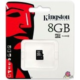 KINGSTON MicroSDHC 8GB Class 10 [SDC4/8GBSP] (Merchant) - Micro Secure Digital / Micro Sd Card