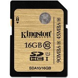 KINGSTON SDHC 16GB Class 10 [SDA10/16GB] (Merchant) - Secure Digital / Sd Card